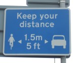 nothing to do with this critical mass but I thought this sign from Hastings might interest cyclists