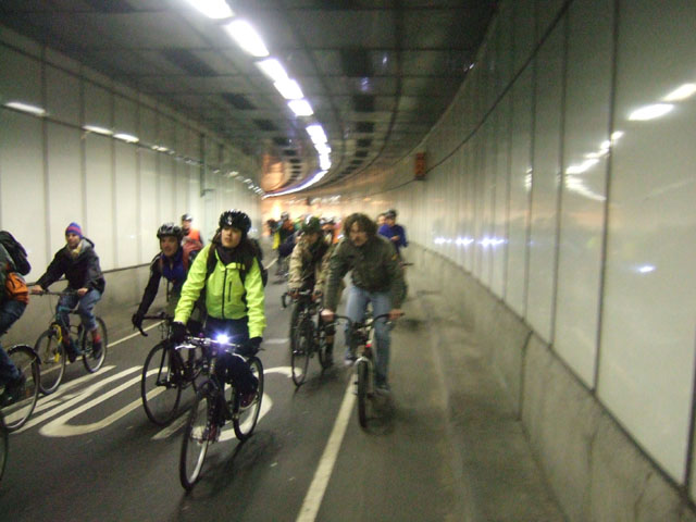 it was fun going through the tunnel from the bridge to Holborn Kingsway
