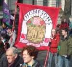 Thompsons solicitors banner - they are a Solicitors that works closely with Trade Unions, for more click here