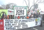 the Stop the War Coalition banner