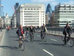 then off to cross London Bridge