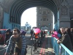 and then back to the City over Tower Bridge