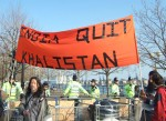 and protesters from Khalistan