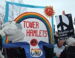 but there were plenty of other groups like Tower Hamlets CND
