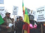 More Ethiopian protesters calling their Prime Minister a war criminal
