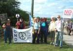 and our group from East Lancashire CND